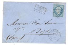 22366 - MOUTIERS APRES LE DEPART - Storia Postale