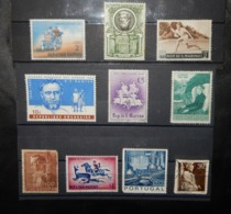 A114 PORTUGAL LOT OF 10 DIFFERENT STAMPS - Portugal