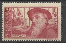 France N° 384  Auguste Rodin     Neuf   * *  TB  = MNN H VF Soldé  à Moins De 15  %  ! ! ! - Nuovi