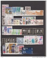 1986-FRANCE-ANNEE COMPLETE 1986**.59 TIMBRES - 1980-1989
