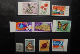 A125 ALGERIE LOT OF 10 DIFFERENT STAMPS - Algeria (1962-...)
