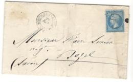 22385 - LAC Commerciale  Pour BOZEL - 1849-1876: Classic Period