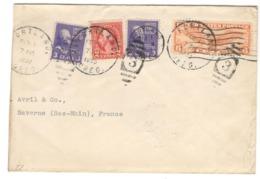 22386 - De PORTLAND Pour La France - Briefe U. Dokumente