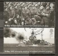 Grande-Bretagne Great Britain 2019 D-Day Obl - 1952-.... (Elizabeth II)