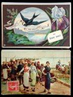 Lot De 500 Cartes Fantaisies Anciennes - Tout Petit Prix De Départ ! - 500 Cartoline Min.