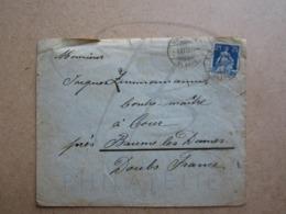 VEND TIMBRE DE SUISSE N° 120 SUR LETTRE DE SCHWANDEN !!! - Covers & Documents