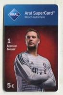 GC 10989 ARAL SuperCard - Bayern München - Manuel Neuer - Tarjetas De Regalo