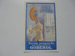 VIEUX PAPIERS - PUBLICITE : Savon Suspendu Des Laboratoires GOBEROL - Publicités