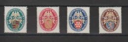 Allemagne 1926 Blasons 390-93 4 Val ** MNH - Ongebruikt