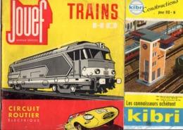 Lot 17 Catalogues Anciens Modélisme TRAINS : Roco Kibri Jouef Marklin Lima Meccano..... - Trains électriques