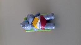 FIGURINE FERRERO HIPPOPOTAME 92 TRANSAT LIVRE - Figurines