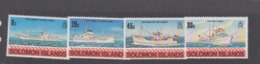 Solomon Islands SG 413-416 1980 Fishing,mint Never  Hinged - Solomon Islands (1978-...)