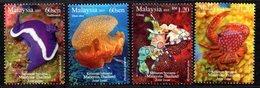 Malaisie Malaysia 1781/84 Faune Marine , Thailand - Meereswelt