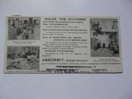 VIEUX PAPIERS - PUBLICITE : IMPRIME TIMBRE - ABSORBIT - Publicités