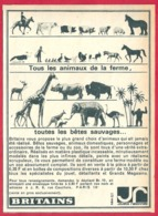 Britains. Tous Les Animaux De La Ferme, Toutes Les Bêtes Sauvages. Miniature. 1965. - Publicités