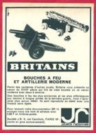 Britains. Bouches à Feu Et Artillerie Moderne. Miniature. 1965. - Publicités