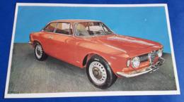 "ALFA ROMEO GIULIA SUPER 1600 S # Altes Sammelbild Aus Der Serie ""AUTO 1967"" V. Sicker-Verlag In Frankfurt/M. # [19-1934] - Alte Papiere"
