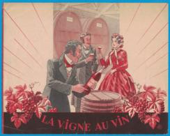BYRRH LA VIGNE AU VIN MM. J. & S. VIOLET FRERES PROPRIETAIRES DU BYRRH ( LES ATELIERS A.B.C. PARIS ) - Publicités