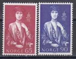 Norway 1969 - Koenigin Maud, Mi-Nr. 598/99, MNH** - Noruega