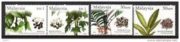 Malaisie Malaysia 1057/60 Plantes Médicinales , Pharmacie , Pharmacopée - Medicinal Plants