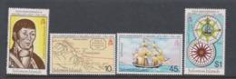 Solomon Islands SG 434-437 1981 Bicentenary Of Maurelle's Visit,mint Never Hinged - Solomon Islands (1978-...)