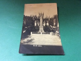 ROUGES EAUX. Inauguration Du Monument Aux Morts En 1922 Carte Photo - Francia