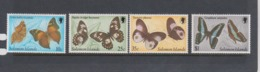 Solomon Islands SG 456-459 1982 Butterflies 2nd Issue,mint   Never Hinged - Solomon Islands (1978-...)