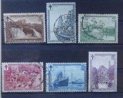 BELGIE  1929   Nr. 293 - 298      Gestempeld   CW  50,00 - Belgique