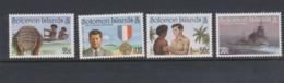 Solomon Islands SG 775-778 1993 50th Anniversary Sinking Of PT109,mint Never Hinged - Solomon Islands (1978-...)