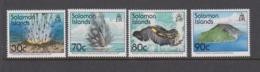 Solomon Islands SG 812-815 1994 Volcanoes,mint  Never Hinged - Solomon Islands (1978-...)