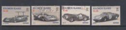 Solomon Islands SG 947-950 1999 Ferrari Racing Cars,mint Never Hinged - Solomon Islands (1978-...)