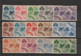 Cote Des Somalis 1943 Série 234 à 247 14 Val Neuf ** MNH - Ungebraucht