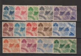 Cote Des Somalis 1943 Série 234 à 247 14 Val Neuf ** MNH - French Somali Coast (1894-1967)