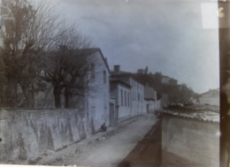 TASSIN (69), Mai 1890 : Entrée De La [?] . Plaque De Verre. Négatif. Lire Descriptif. - Plaques De Verre