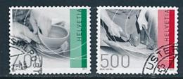 SCHWEIZ Mi. Nr. 2208-2209 Freimarken: Traditionelles Handwerk. - Used - Schweiz