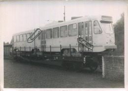 TRAM : 7501 : UCCLE : Livraison D La 1e Motrice Articulée De Fabrication Belge ( Pour Le STIB )    ( 18 X 13 Cm ) - Foto