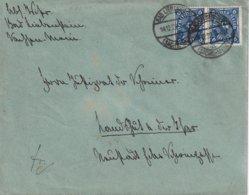 ALLEMAGNE 1922 LETTRE DE BAD LIEBENSTEIN - Germany