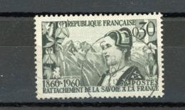 FRANCE - SAVOYARDE - N° Yvert 1246 Obli. Ronde De GEX 1960 - France