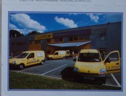 Petit Calendrier De Poche 2001 La Poste Voitures Renault - Petit Format : 2001-...