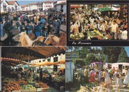 Marchés -- Lot De 12 Cartes - Mercados