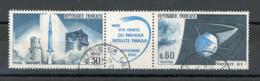 FRANCE - 1er SATELLITE NATIONAL - N° Yvert 1465a Obli. Ronde De PARIS - France
