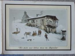 Petit Calendrier De Poche 1982 La Poste - La Poste Aux Lettres Dans Les Pyrénées - St Saint  Marcellin - Calendars