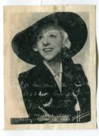 Photo Sur Papier Souple : Harcourt 1949   Madame Sans Gêne  VOIR  DESCRIPTIF §§§§§ - Otros