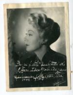 Photo Sur Papier Souple : Harcourt 1949   Edwige Feuillère  VOIR  DESCRIPTIF §§§§ - Otros