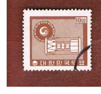COREA  DEL SUD (SOUTH KOREA)   - SG 548  -     1962  KOREAN DRUM    - USED ° - Corea Del Sur