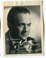Photo Sur Papier Souple : Harcourt 1949   Pierre Fresnay VOIR  DESCRIPTIF §§§§ - Photographie