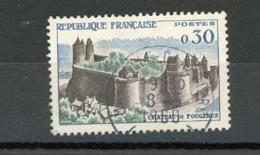 FRANCE - FOUGERES - N° Yvert 1236 Obli. Ronde De MARSEILLE 1960 - France