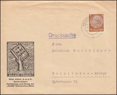 513X Hindenburg Als EF Paul Koch KABE-Briefmarken-Alben ASCHERSLEBEN 3.8.36 - Deutschland