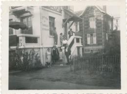 Snapshot Jean Marais Pension De Famille Le Touquet La Brise 1932 Gay Interest - Célébrités