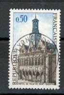 FRANCE - St QUENTIN - N° Yvert 1499 Belle Obliteration Ronde De LYON 1967 - France